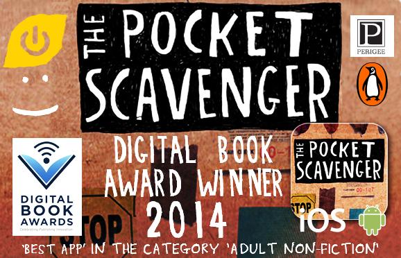 The Pocket Scavenger Wins Best App At Digital Book Awards